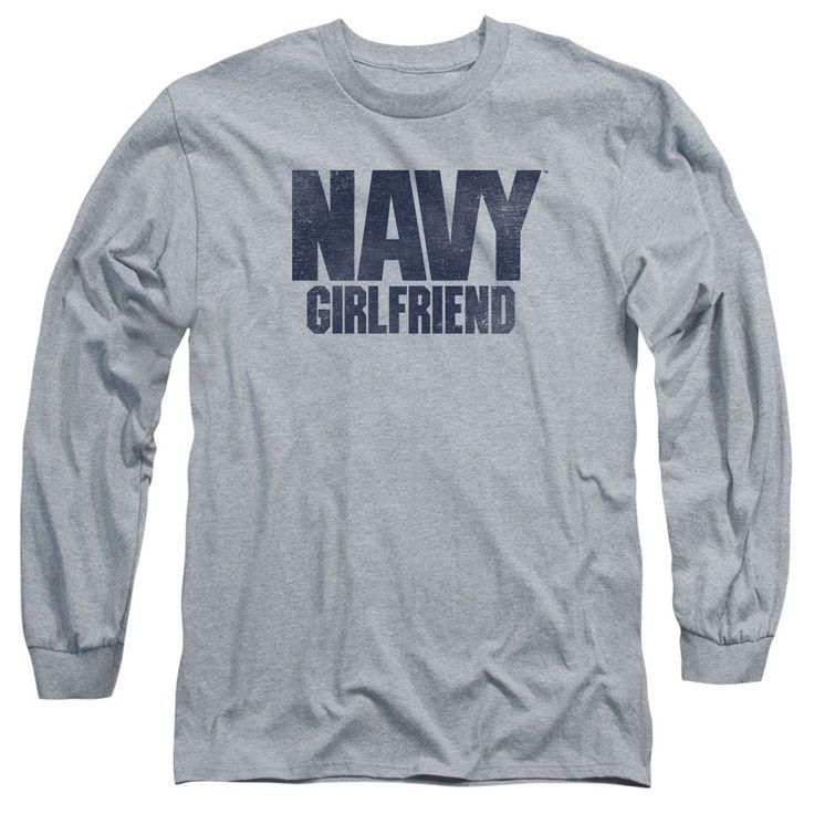 U.S. Navy: Girlfriend Long Sleeve T-Shirt
