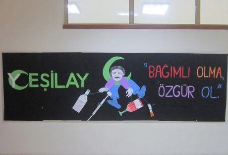 """3. Sınıflar'ın """"Yeşilay Haftası"""" Sloganı 1"""