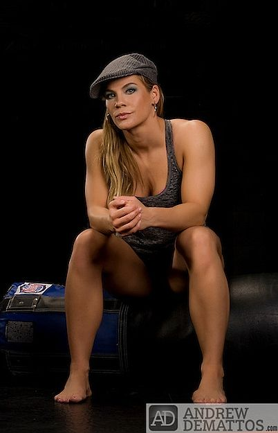 More Functional Muscle Female Mma Fighter Julie