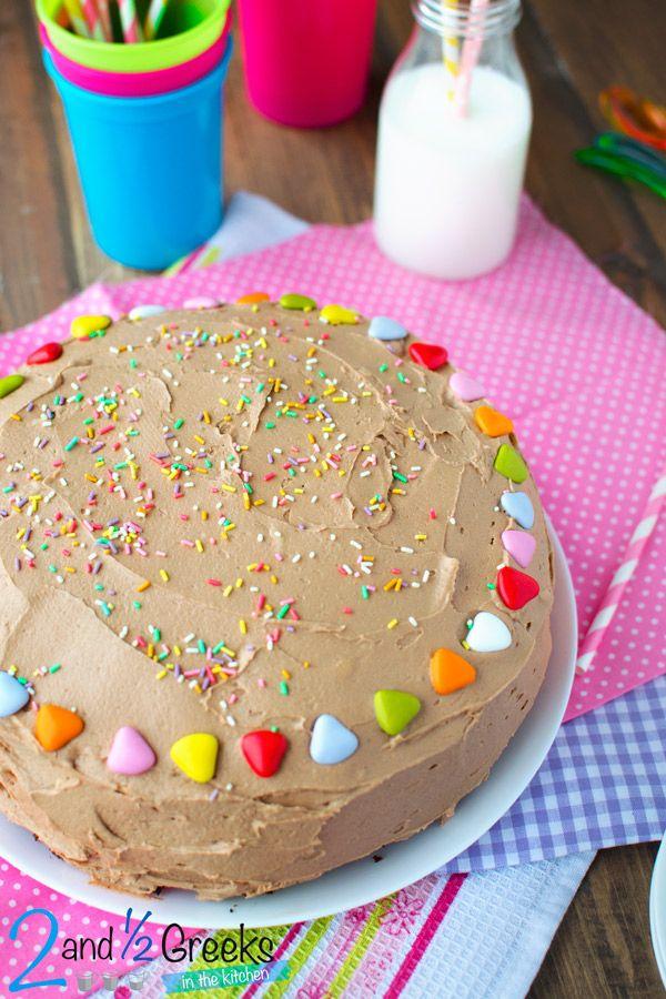 Θεσπέσια τούρτα σοκολάτα - Two and a half Greeks