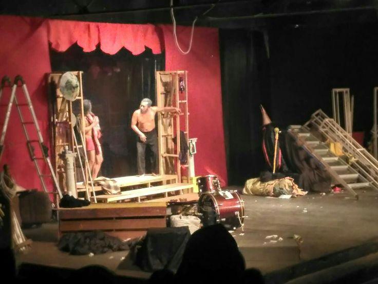 "Teater Mata ""Nyanyian Angsa"" karya Anton Checkov Parade Teater Khatulistiwa 2016"