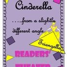 A lesson on polygons in reading class???  Absolutely!!  Your students will have a blast with this Cinderella tale told from a slightly different angle!  This 7 part readers' theater script includes polygon brain busters that require higher level thinking!  On sale at TpT.  Check out the preview!