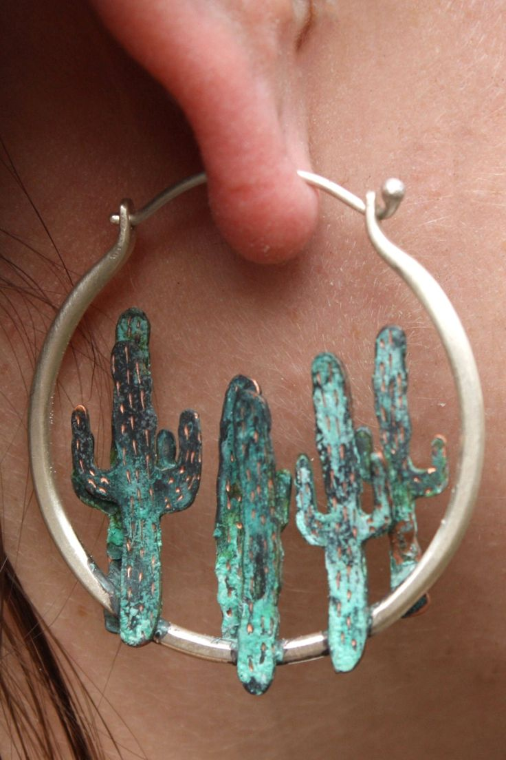 Cactus earrings. Oh we went there.