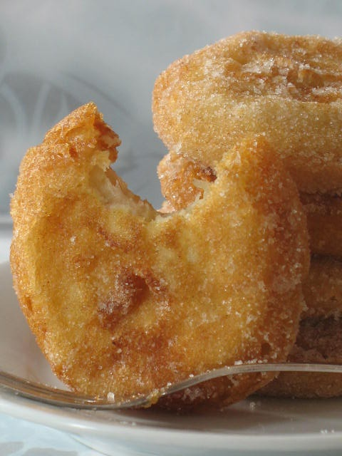 Apple And Cider Beignets. | Eat, drink, and be merry. | Pinterest