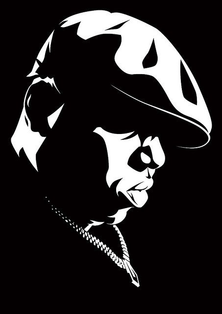 Biggie Smalls Face Stencil Biggie smalls .