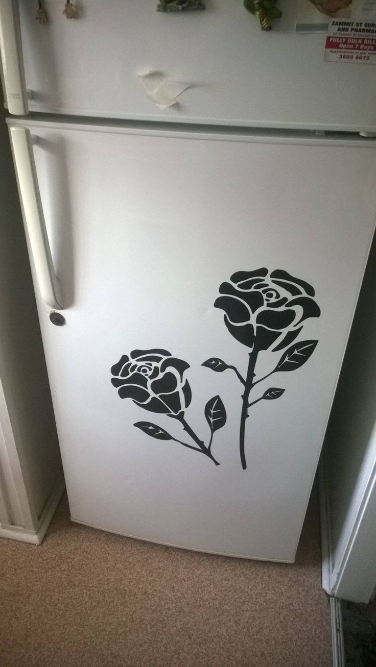 Roses on the fridge, to order contact me at www.facebook.com/brightenupyourworld