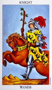 #Knight of #Wands #Tarot Card Meanings tarot card meaning
