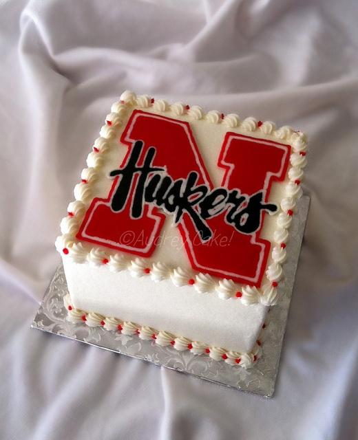 Nebraska Cornhuskers Cake   Flickr - Photo Sharing!