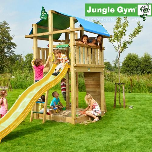 Backyard Jungle Gym Ideas : Jungle gym, Jungles and Forts on Pinterest