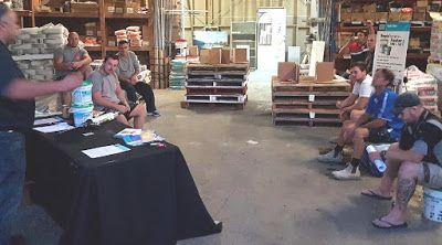 Laticrete Australia Conversations: HYDRO BAN® Training at Amber Fairy Meadow