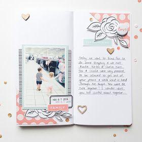 This Has My Heart Traveler's Notebook spread by Mandy Melville   @FelicityJane
