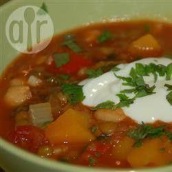 Foto da receita: Ensopado de legumes à moda marroquina