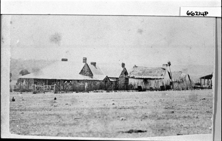 066214PD: Geraldton homestead and outhouses, ca 1865 http://encore.slwa.wa.gov.au/iii/encore/record/C__Rb3725783?lang=eng