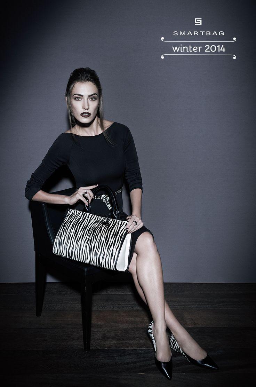 Smartbag bolsas | Inverno 2014 #bolsa #animalprint #zebra