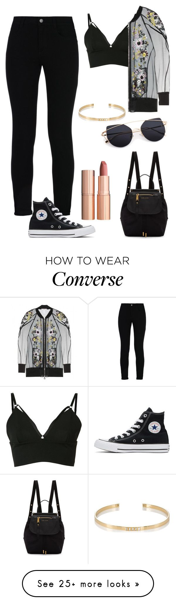 """Untitled #634"" by aya-omar on Polyvore featuring Alexander Wang, STELLA McCARTNEY, Erdem, Converse, Marc Jacobs, Ileana Makri and Charlotte Tilbury"