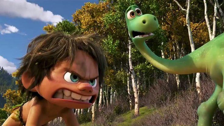 O Bom Dinossauro Filmes de animação completo dublado em portugues - Aven...