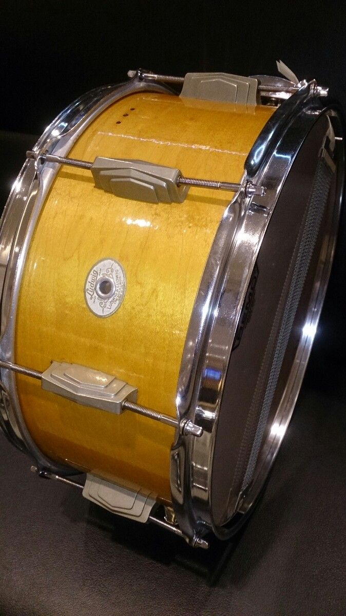 Ludwig&Ludwig Standard Snare Drum 41's Mahogany14×6.5 音が太く、バランスのいいサウンド!サウンドスタジオノア恵比寿店 03-5447-6066 #drum #music #studionoah #ドラム #スネア #Ludwig