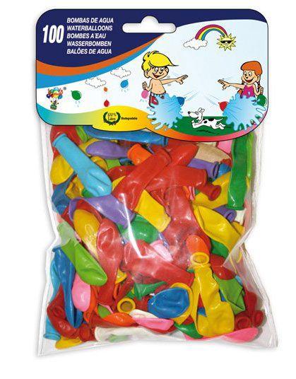 Bolsa con 100 globos de agua multicolor. #globos #decoración #balloons