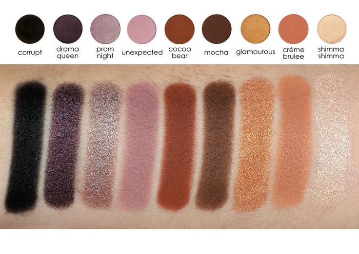 Makeup Geek 9-Eyeshadow Starter Kit - Makeup Geek Eyeshadow Pans - Eyeshadows - Eyes