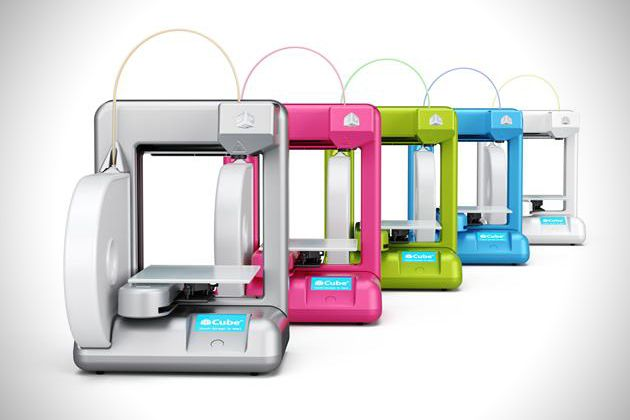The Cube – Small Sized 3D Home Printer Form Cubify http://coolpile.com/gadgets-magazine/the-cube-small-sized-3d-home-printer-form-cubify/ via @CoolPile.Com - $1299 - 3D, Office, Printers, Cubify.com
