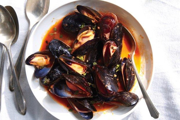 Mussels with White Wine   Gentl  amp  Hyers