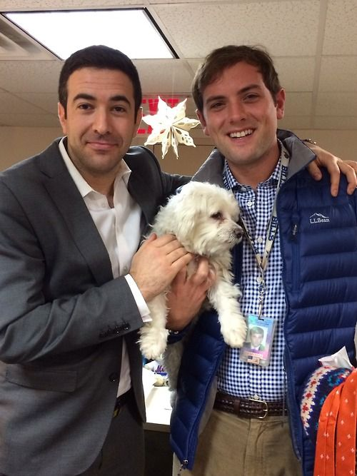 Ari Melber and Luke Russert welcome The Cycle's new co-worker at msnbc.