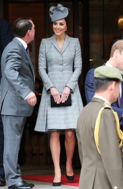 Kate Middleton Makes First Public Appearance in Two Months, Conceals Baby Bump [PHOTOS]