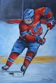 peinture sur toile des canadiens - Google Search
