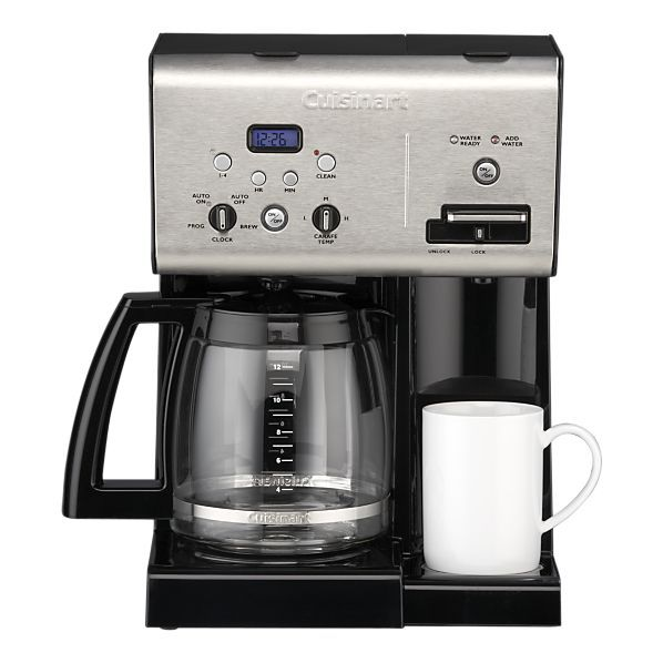 Cuisinart Coffee Maker Water Dispenser : Cuisinart Programmable 12 Cup Coffee Maker with Hot Water System