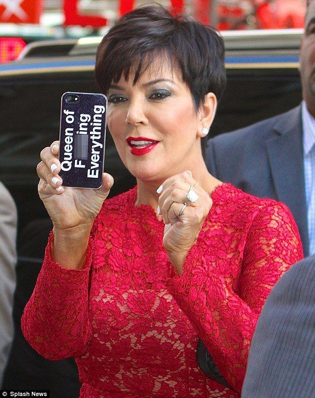 Mom Kardashian Hair March 2017