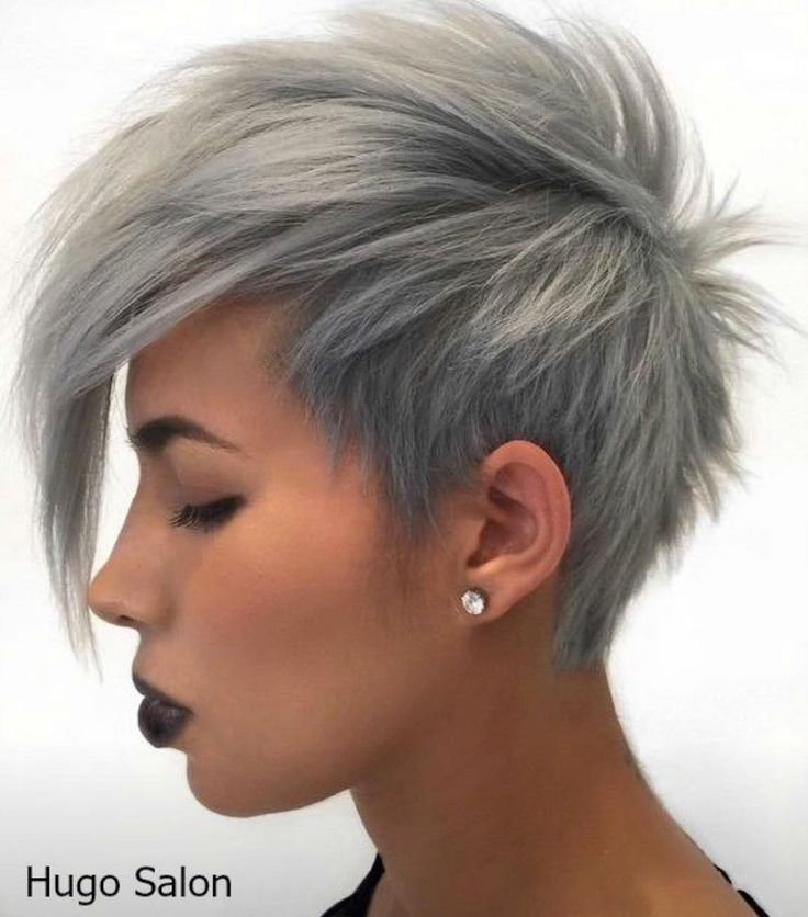 wedge haircuts for gray hair best 25 platinum pixie cut ideas on grey 3301