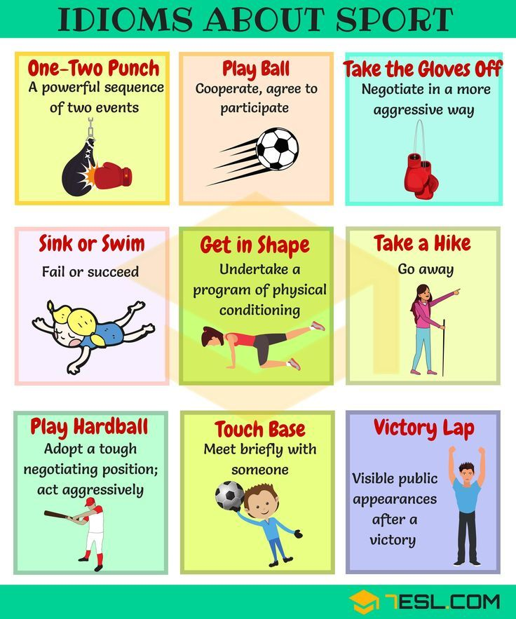 Sports Idioms 45+ Useful Sport Idioms & Phrases English