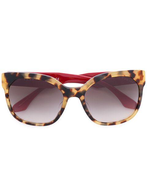 7aa4c5b571 PRADA EYEWEAR oversized sunglasses.  pradaeyewear  サングラス ...