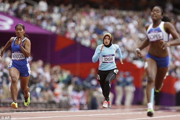 We take certain freedoms for granted. Even though they didn't make it past the qualifying rounds, these women had to overcome deep-seated religious/cultural prejudices just to be able to compete.