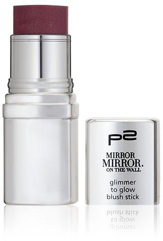 p2 cosmetics mirror mirror glimmer to glow blush stick