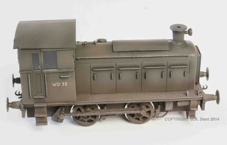 George Dent Model Maker: WD LOCO SIGNED OFF
