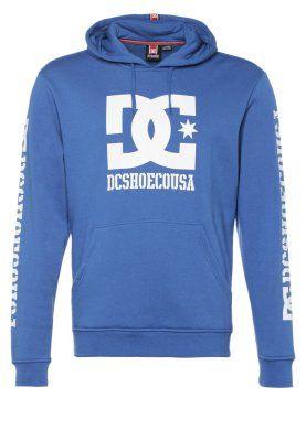 Bluza z kapturem - niebieski