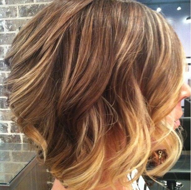Cute short hair with ombré!