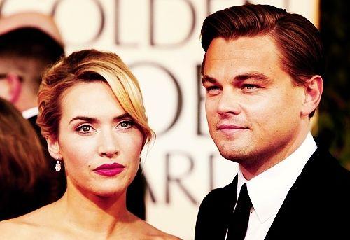 LOVE them. Leonardo Dicaprio and Kate Winslet