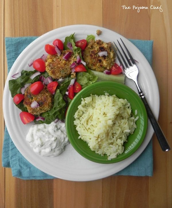 SRC: Falafel, Tzatziki, and Greek Lemon Rice