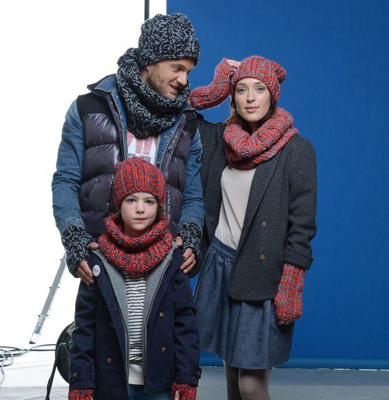 Pour parfaire sa panoplie, ces bonnets sont faciles à tricoter.Modèles en Laine RAPIDO.