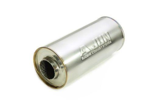 New-Korea-A-JUN-Car-All-Stainless-Steel-SUS304-Resonator-R120