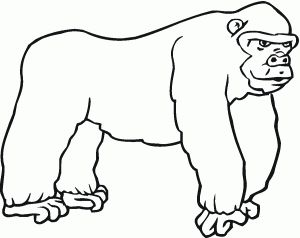 free-animals-gorilla-coloring-pages-for-preschool