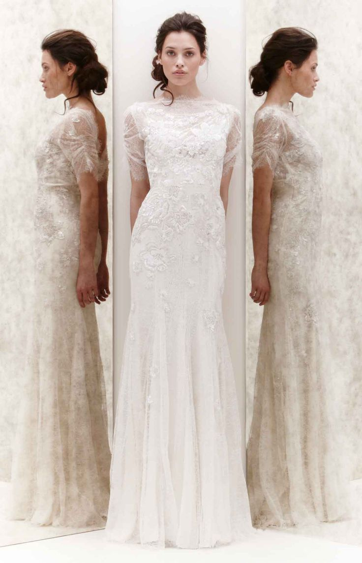 best vestido blanco images on pinterest wedding dressses bridal