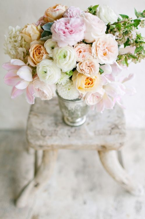 ♔ Enchanted Fairytale Dreams ♔Ranch Wedding, Pastel Cerveza Tennis, Tables Centerpieces, Gorgeous Flower, Farmers Marketing, Pretty Pastel, Fresh Flower, Wedding Flower, Colors Inspiration