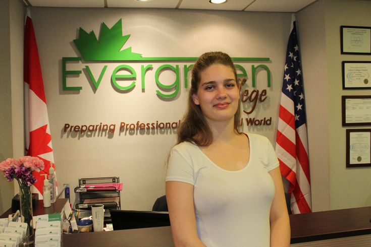 Alyssa, Evergreen College Graduate from the Developmental Service Diploma Program visited the campus to connect with the class and share her experience in correlation of the class room skills transferring to the work place.  For more information about Evergreen College Diploma Programs, please call us at ( 416) 365 -0505 Professional #careercollege #career #success #collegelife# Dreambig #Evergree #Study #Community #Toronto