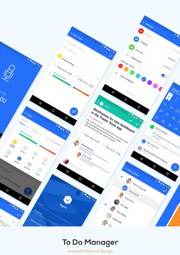 android app design tools