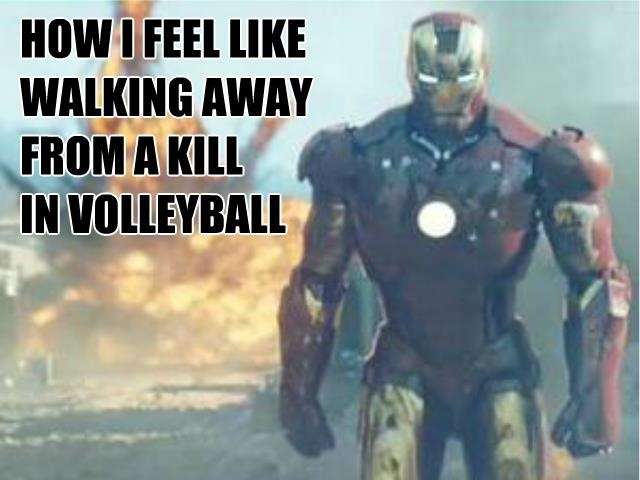 Volleyball jokes. Ironman RULES!!!