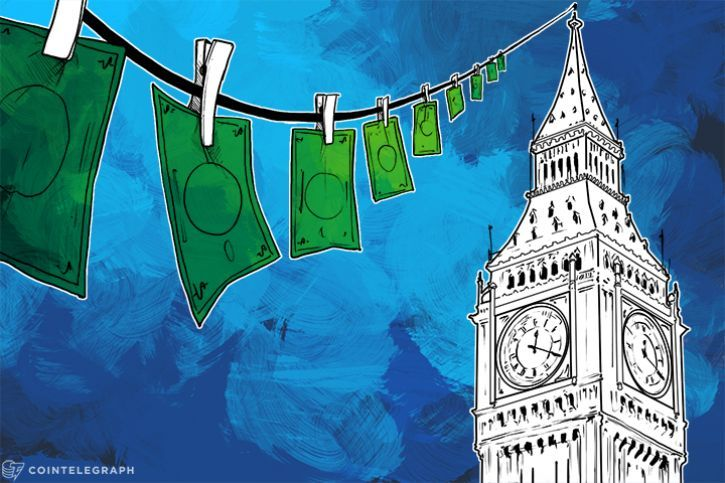 An international crime expert has labeled London the center of international money laundering, saying the city's major banks disregard the anti-money laundering regulation that at the same time burdens FinTech startups.