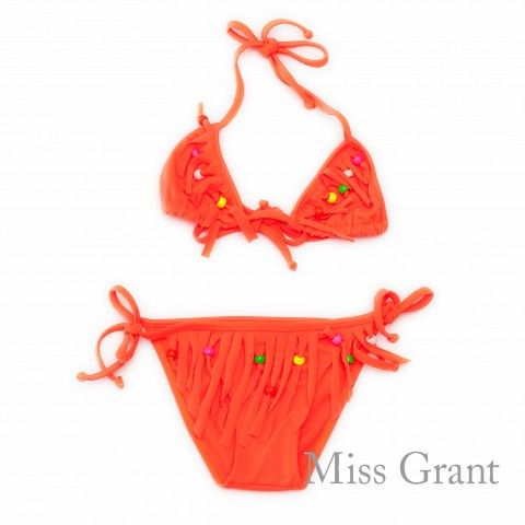 #missgrant BIKINI SET WITH FRINGES. Sale 50% off Spring&Summer Collection! #discount